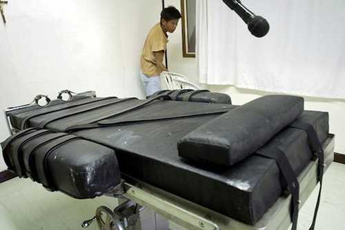 'With crime rate down, why restore death penalty?'