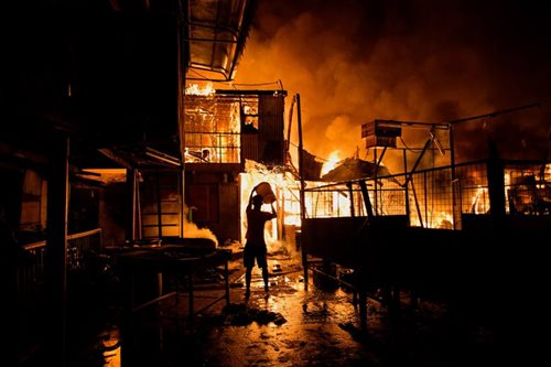 Parola fire affects 3,200 families