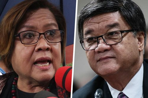 De Lima to Aguirre: Who's the drug lord coddler now?