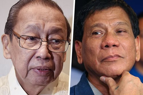 Duterte tells Joma: Forget about returning to PH