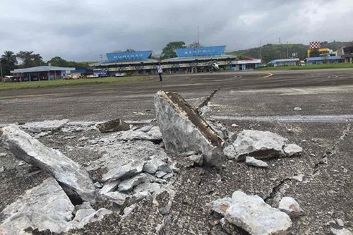 CAAP orders closure of Surigao airport due to damaged runway