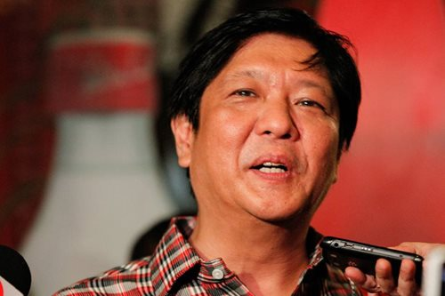 Bongbong Marcos wants PET member out
