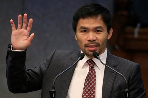 Pacquiao wants firing squad for drug smugglers