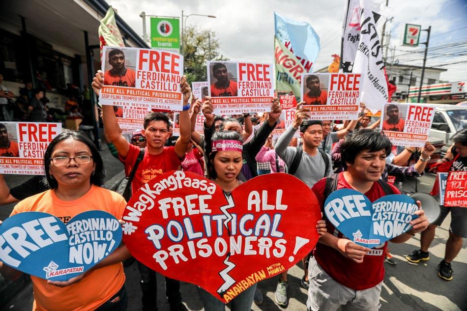 Release all political prisoners