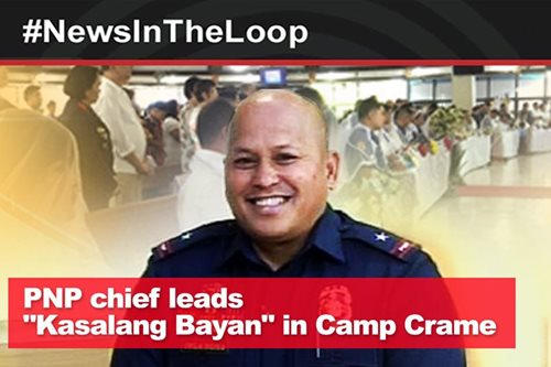 In the loop: PNP chief leads