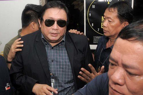 Alleged bribe middleman Sombero faces Senate