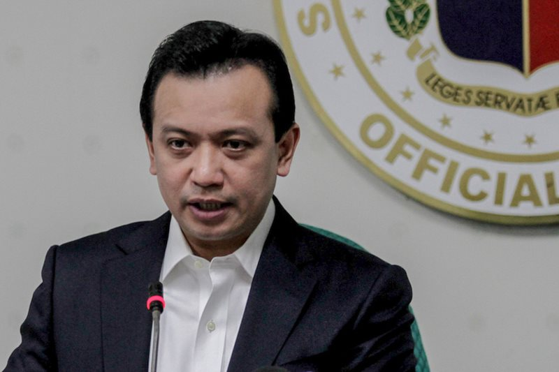 Trillanes hits 'acts of persecution' vs Duterte opposition