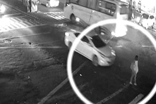 SAPUL SA CCTV: Babae, na-hit and run sa Taft Avenue