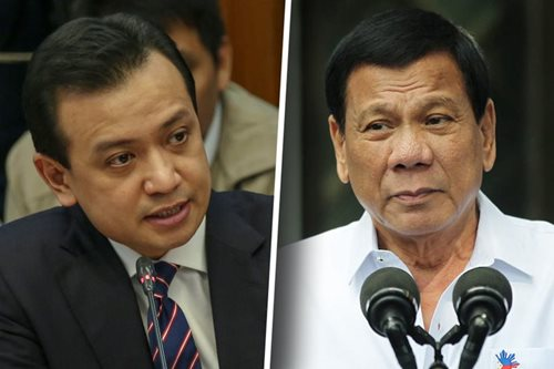 Trillanes' call to probe Duterte's bank accounts is 'old news,' says Roque