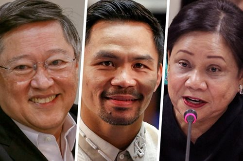 Palace, Senate: Multi-millionaires' club of 2017