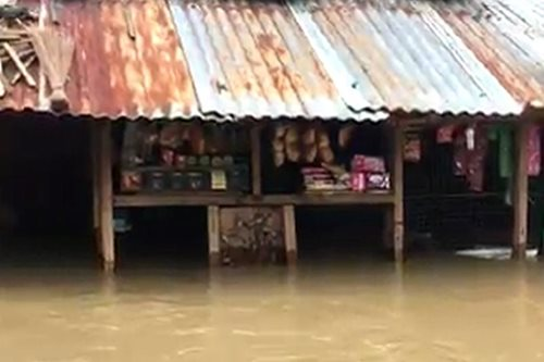 Floods swamp Davao del Norte villages