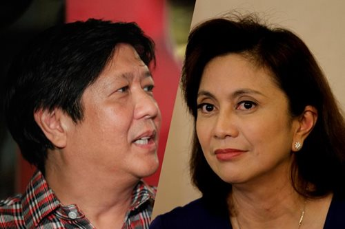 Bongbong as DILG chief? That's 'scary' - Robredo