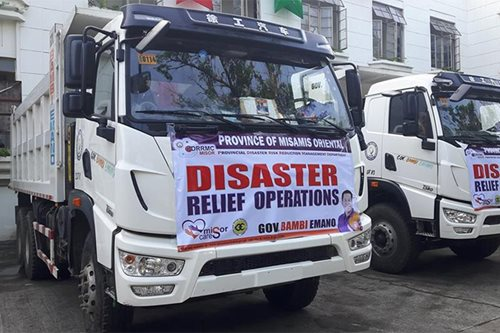 LOOK: Misamis Oriental extends relief to Surigao quake victims