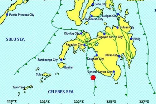 Magnitude 4.9 quake rocks Sultan Kudarat