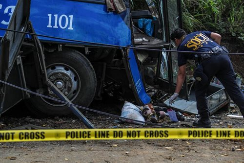CHED to look into Tanay bus crash