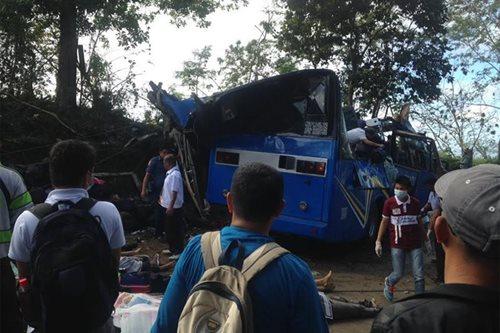 20 biktima ng aksidente sa Tanay, dinala sa ospital sa Marikina