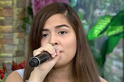 Alexa Ilacad sings rendition of 'Starving'