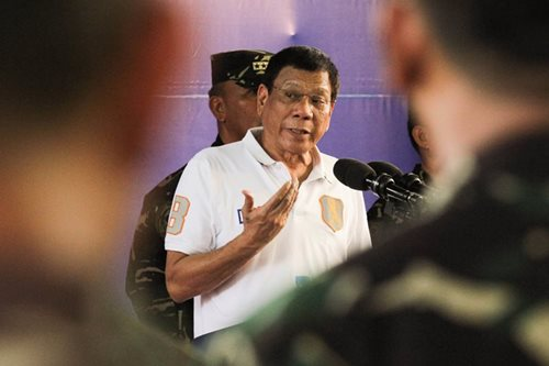 Duterte visits wake of slain Scout Rangers