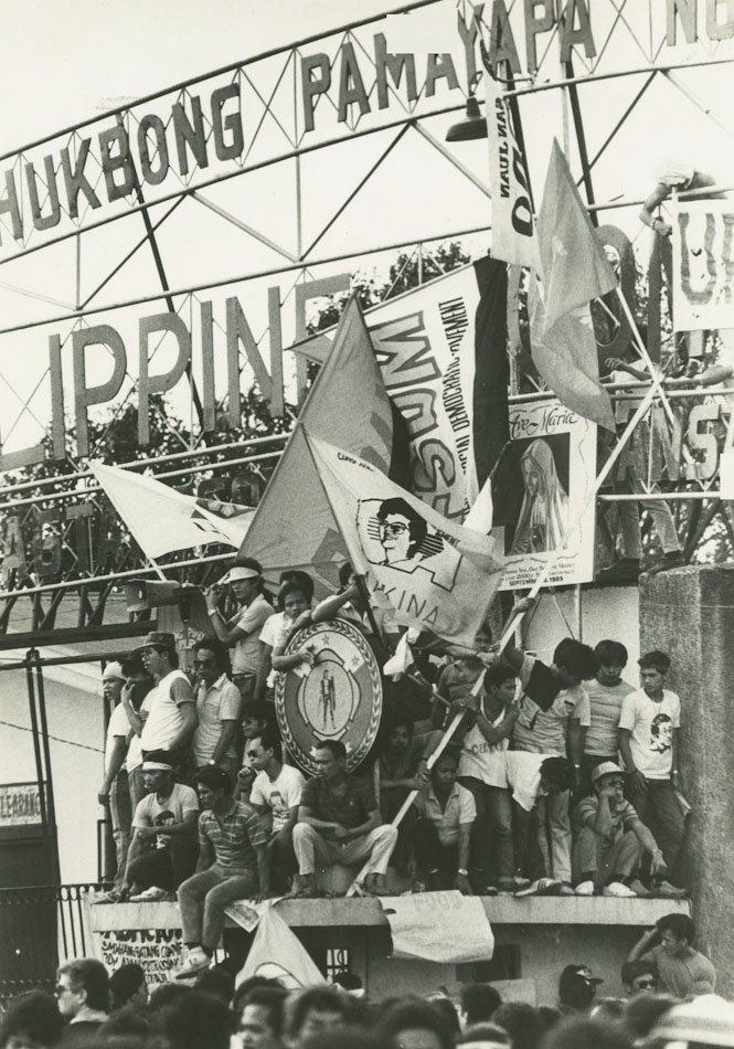 The edsa revolution in philippines