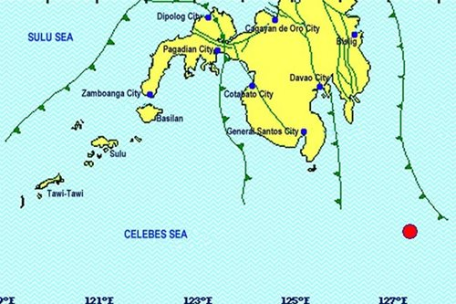 4.7 magnitude quake rocks Davao Occidental