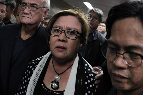 De Lima to be detained in Camp Crame