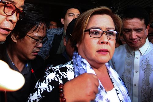 3 Muntinlupa RTC branches reset hearings on De Lima cases