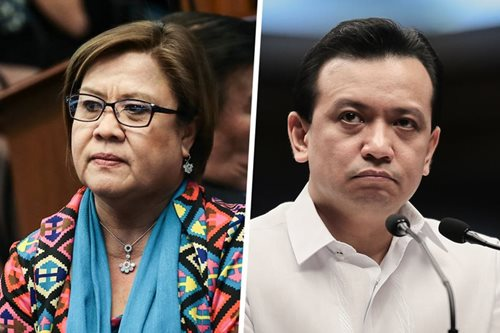 Trillanes visits De Lima, vows to go after Duterte in 2022