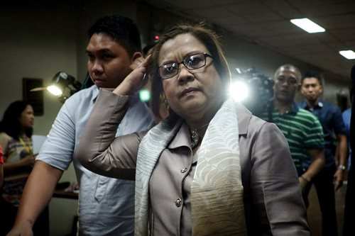 Palace assures De Lima of her safety