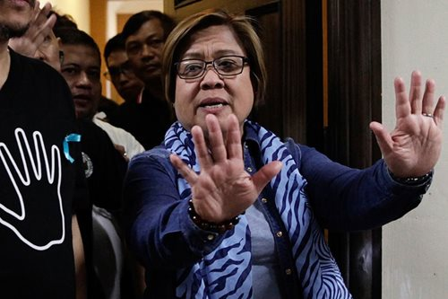 DOJ seeks gag order on De Lima cases