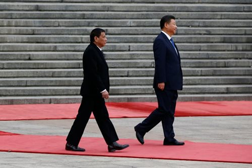 Duterte to visit China anew in May: ambassador
