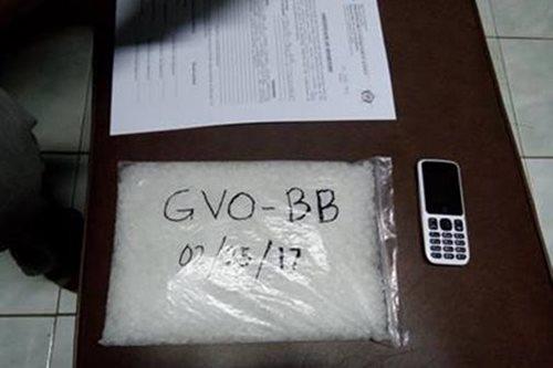 Drug courier na konektado umano sa sindikato sa Bilibid, arestado