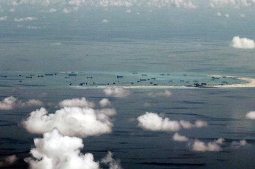 Pentagon says China missile test in South China Sea 'disturbing'
