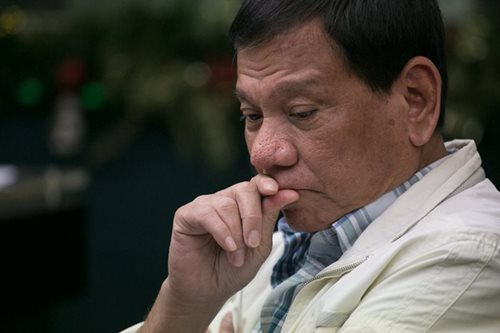 Duterte: Promise to solve drug problem a 'fiasco'