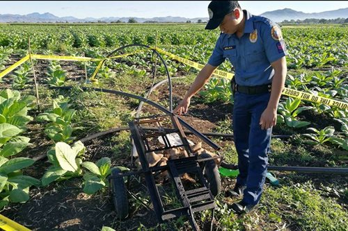 6 water pumps stolen in Ilocos Sur