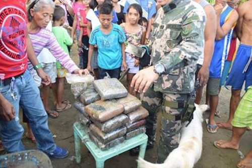 Dumped at sea: Marijuana haul found floating off Surigao coast
