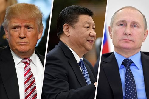 Trump wants talks with Putin, Xi to end 'uncontrollable arms race'
