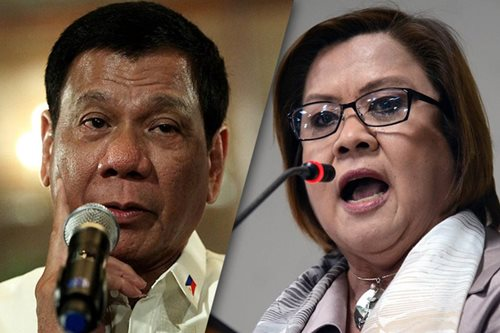 De Lima: Duterte will pay price for drugs killings
