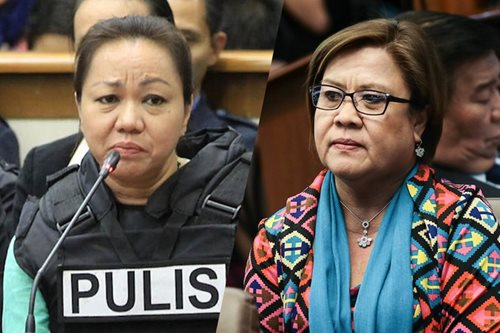 'She will parrot anything': De Lima warns vs Napoles' admission as state witness