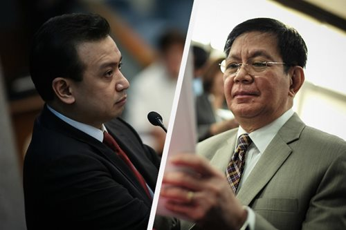 Trillanes denies 'plot,' takes swipe at Duterte