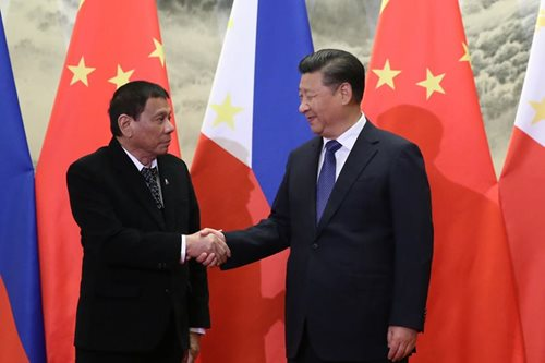 Duterte to China: Thank you for loving us