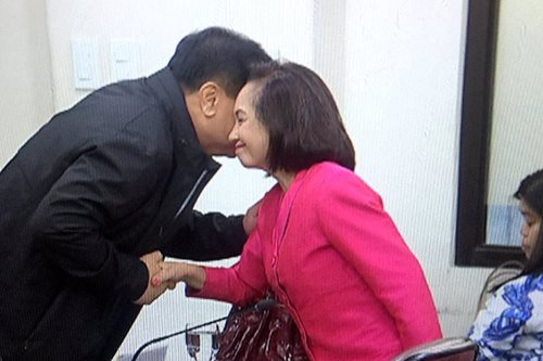 Speaker busses Arroyo, a day after death penalty vote