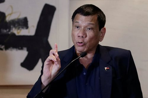 Duterte says will block ABS-CBN franchise renewal