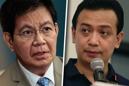 Lacson says Trillanes, Lascañas in destab plot