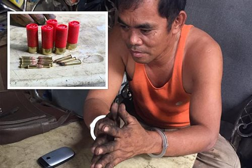 Junk shop owner arrested in Laoag for illegal possession of ammunition