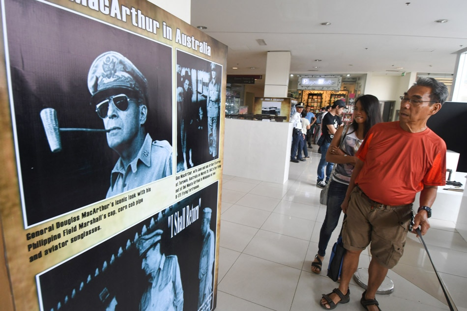 Commemorating MacArthur's escape