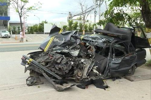 7 patay, 1 kritikal sa banggan ng kotse at truck