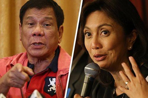 Duterte to Leni: I love to see my VP