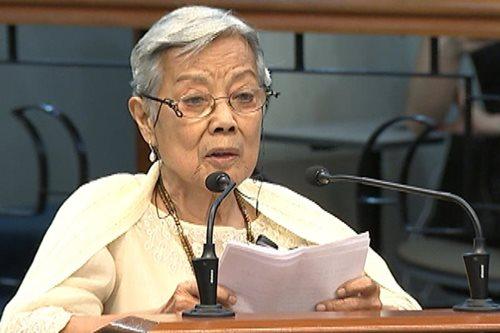 Pakikiramay sa pagpanaw ni dating Senador Leticia Ramos-Shahani, bumuhos