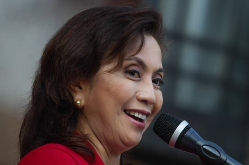 Robredo: Nothing wrong with speaking dissent