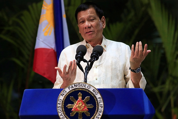 Philippine leader jokes he used marijuana at summit meeting
